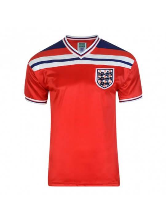 Camiseta Inglaterra 1982 - 2ª equipación