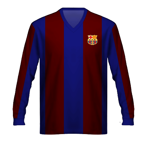 Camiseta FC Barcelona 1950/15 Kubala