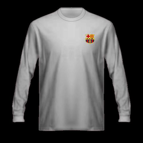 Camiseta FC Barcelona 1966 blanca, segunda equipación