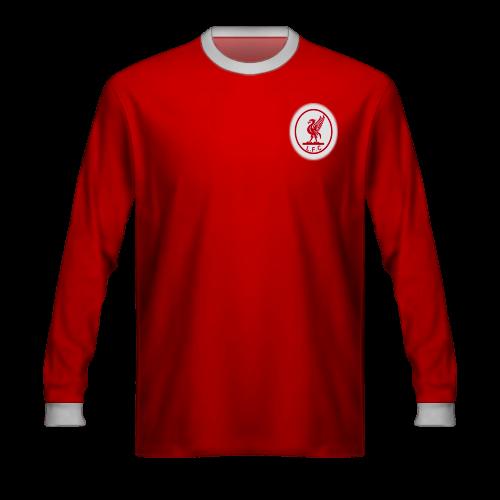 Camiseta Liverpool 1964