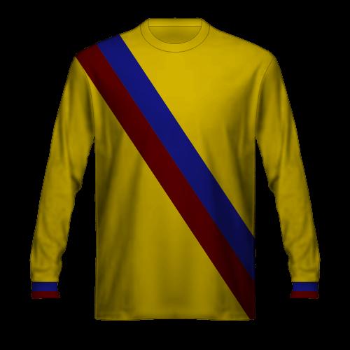 Camiseta FC Barcelona 1975/76 visitante amarilla