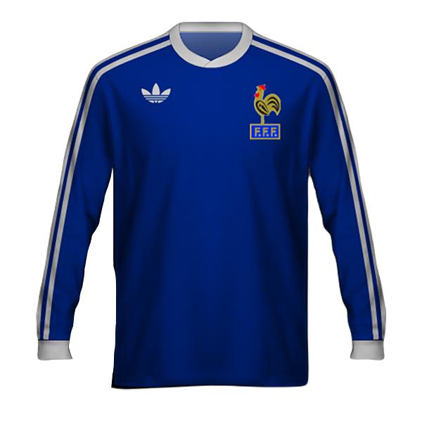Camiseta Francia 1978