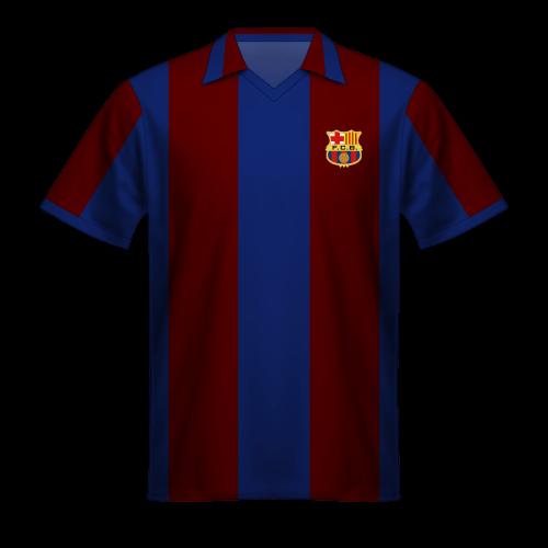 Camiseta FC Barcelona 1980/81