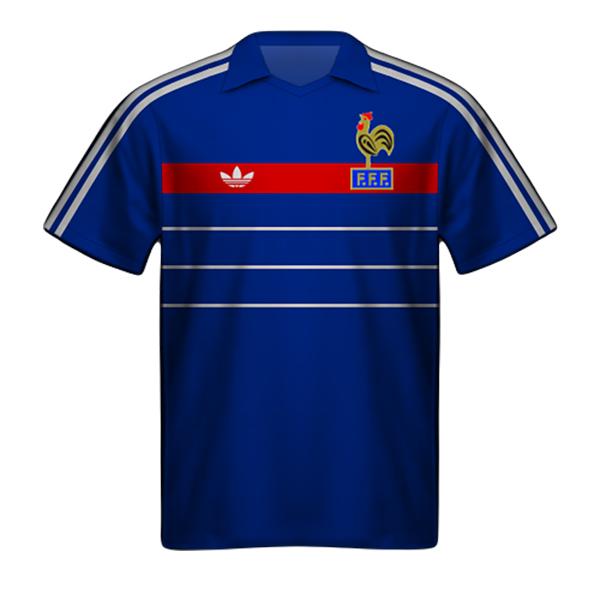 Camiseta Francia 1984