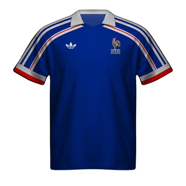 Camiseta Francia 1986