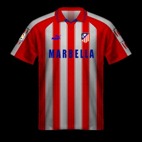 Camiseta Atletico Madrid 1995-96 doblete