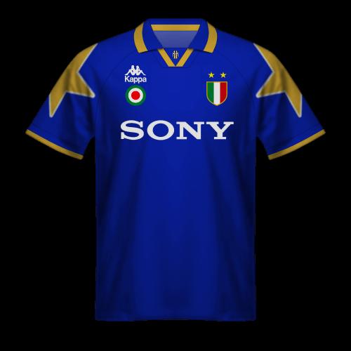 Juventus 1995-96 Away Champions