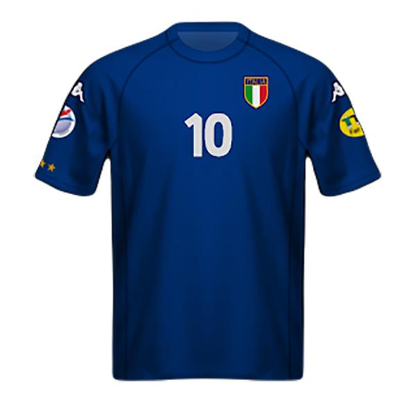 Camiseta Italia 2000