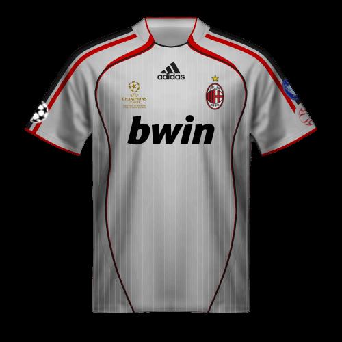 Camiseta Milan 2007 final Champions League