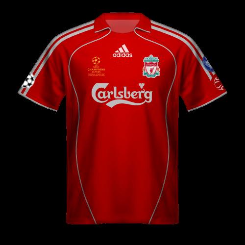 Camiseta Liverpool 2007