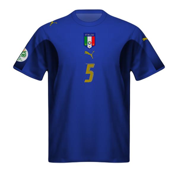 Camiseta Italia 2006