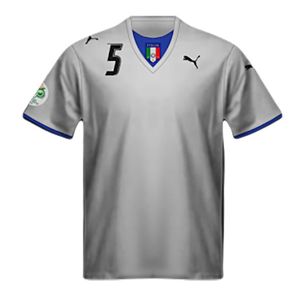 Camiseta Italia Segunda 2006