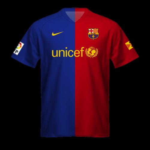 Camiseta FC Barcelona 2008/09, la equipación del sextete de Guardiola