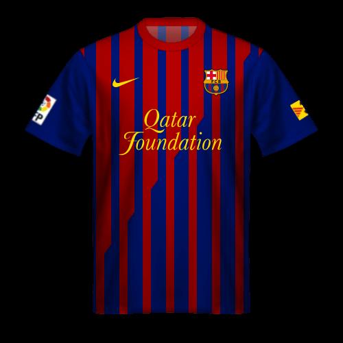 Camiseta FC Barcelona 2011/12