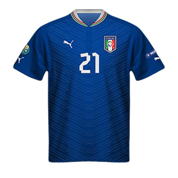 Camiseta Italia 2012