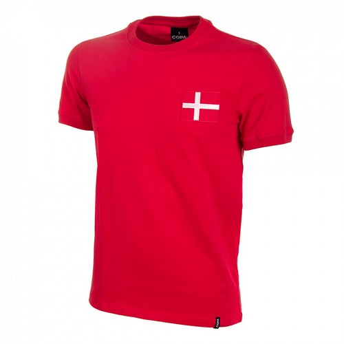 Camiseta Retro Dinamarca años 70