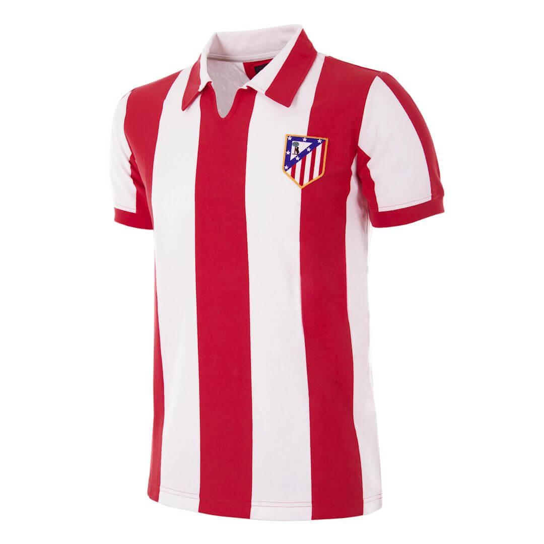 Camiseta retro del Atlético de Madrid 1970-71
