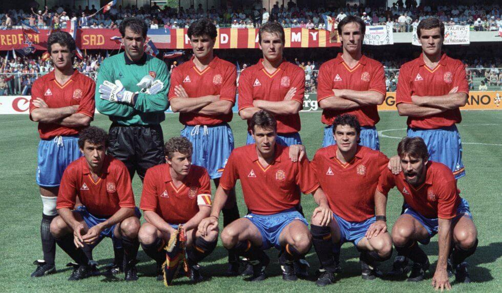 Camiseta clasica España 1990