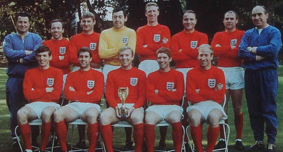 Camiseta clasica Inglaterra 1966