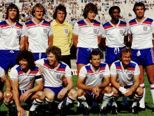 Camiseta retro Inglaterra 1982