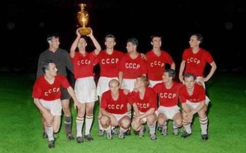 CCCP 1960 Campeón de la Eurocopa