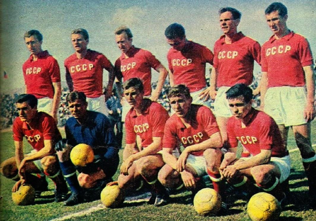 Equipo y camiseta CCCP 1962