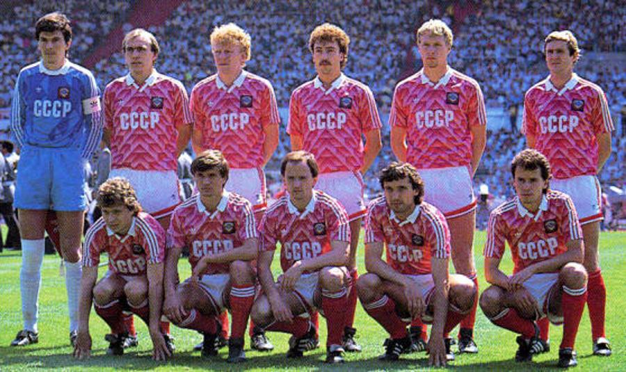 Equipo CCCP 1988 Eurocopa
