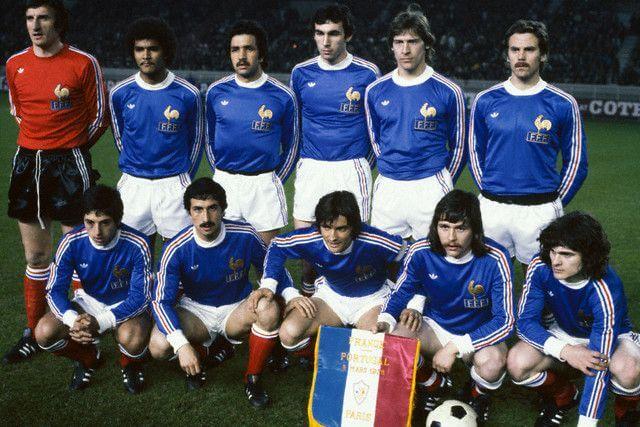 Selección de Francia años 70