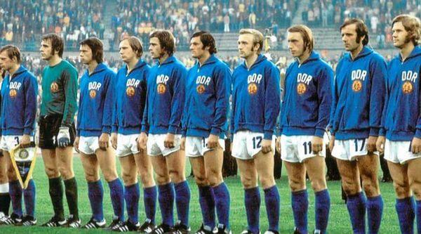 La selección de Alemania Oriental o DDR al Mundial del '74