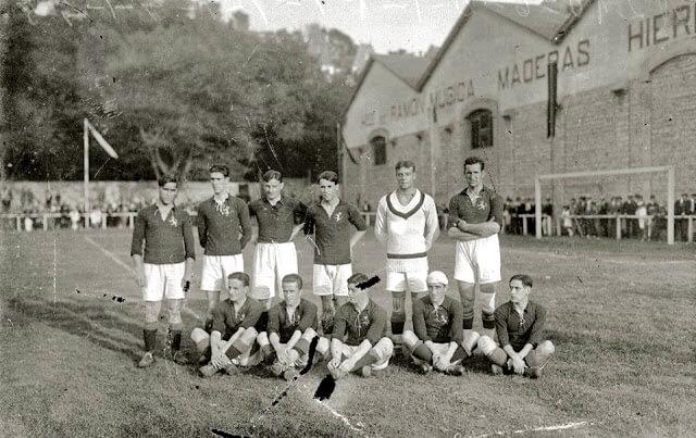 Selección Española fútbol años 20