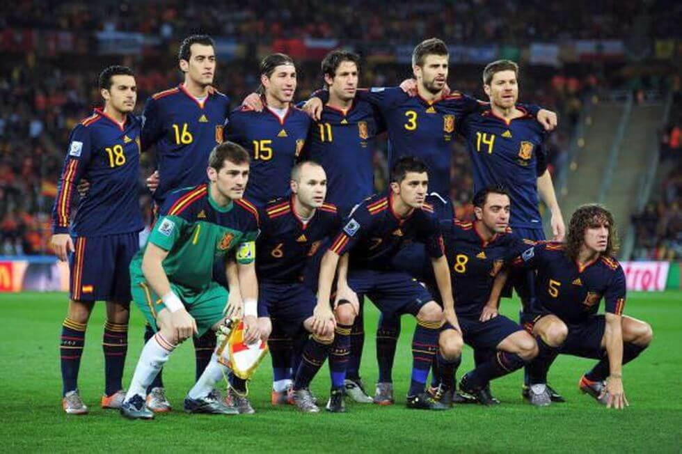España Mundial 2010 Sudáfrica