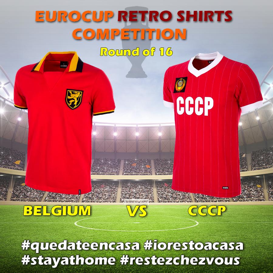 Ejemplo Partido Eurocopa 2020 - elige la major camiseta de fútbol retro de la historia