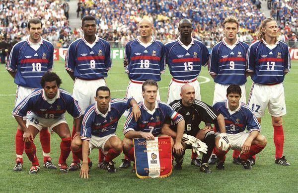 Selección de Francia al mundial de 1998