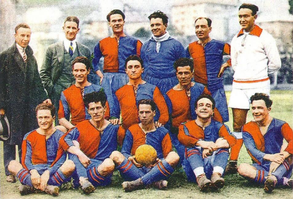 El Genoa ha ganado 9 campeonatos de la liga italiana en la era amateur