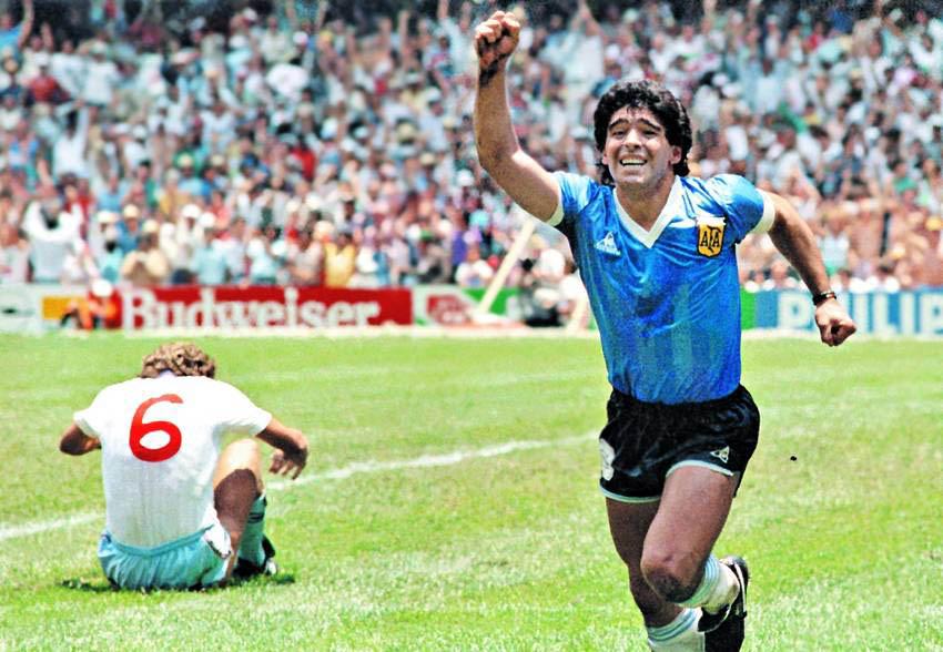 Maradona, gol del siglo XX