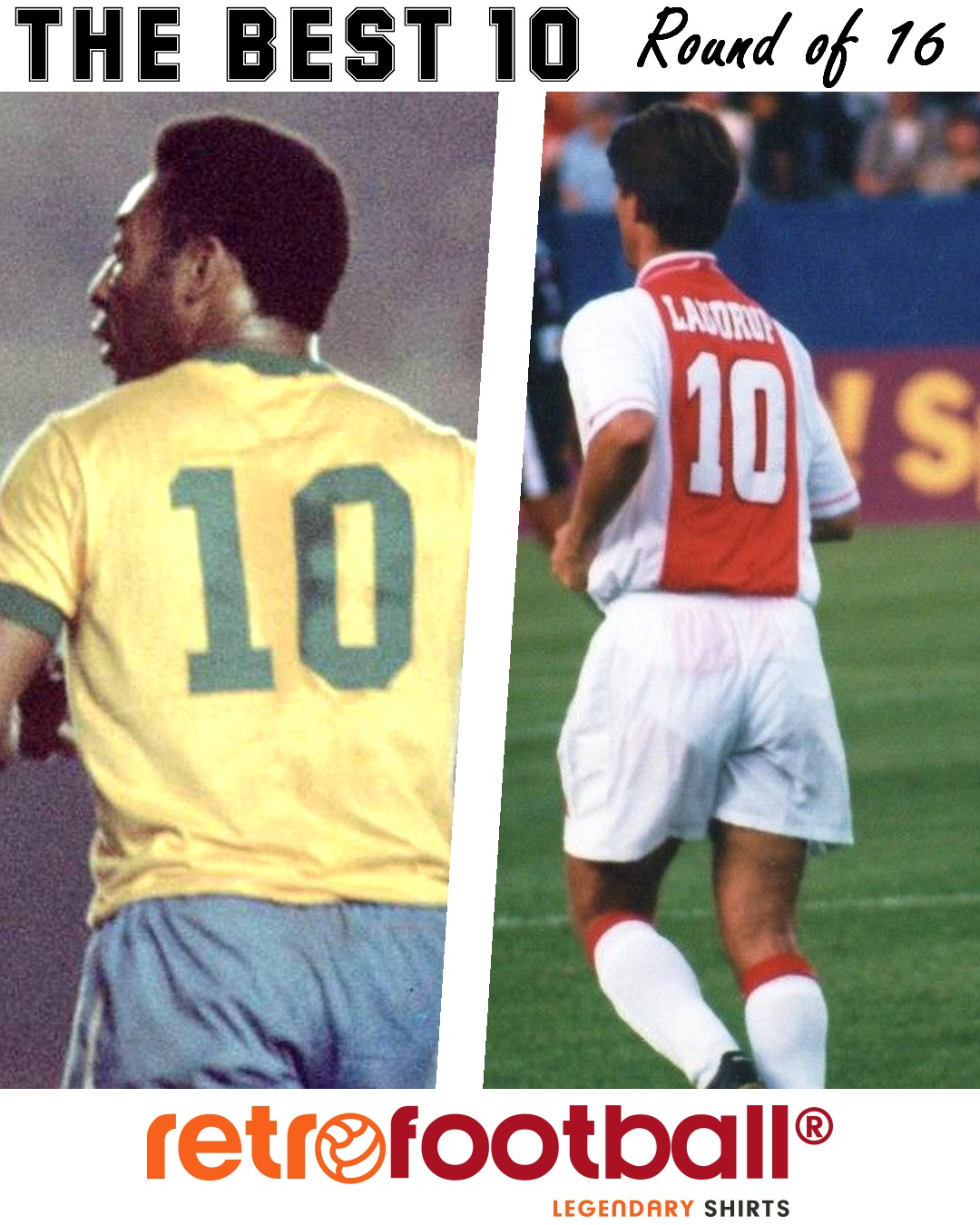 The best 10 - Laudrup vs. Pele