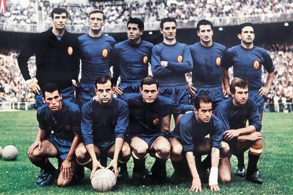 Selección Española fútbol 1964