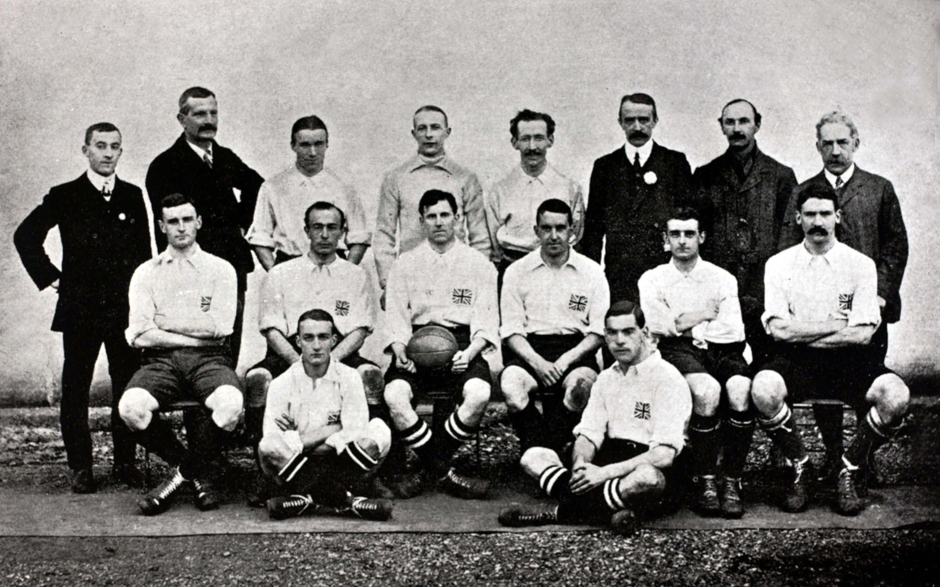 Selección Inglesa de fútbol 1908