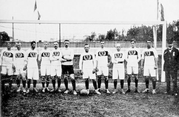 Selección de fútbol de Alemania en los Juegos Olimpicos de 1912