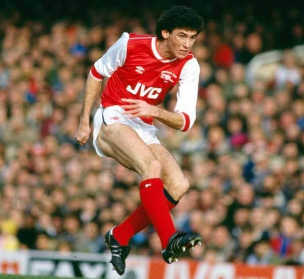 El jugador Martin Keown en 1985 Arsenal FC