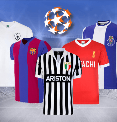 Camisetas retro Champions League