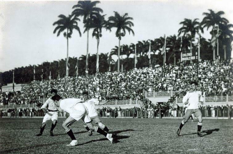 Brasil Chile 1919 Copa America Sudamericana
