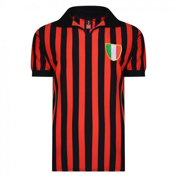 Camiseta AC Milan 1963