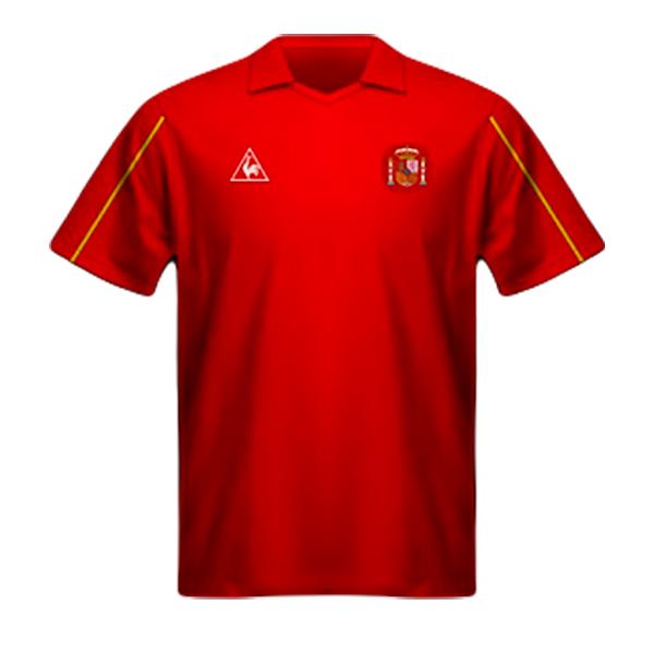 Camiseta España Mundial México 1986