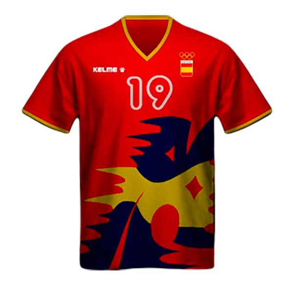 Camiseta España Olimpiadas Barcelona 1992