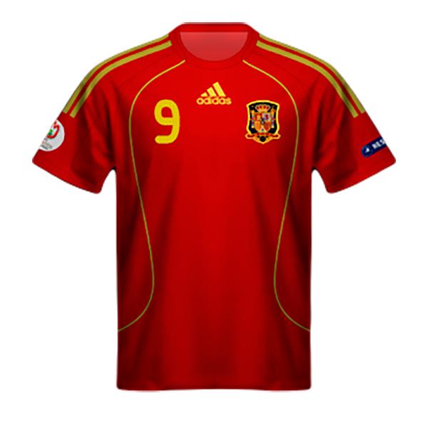 Camiseta España Eurocopa 2008