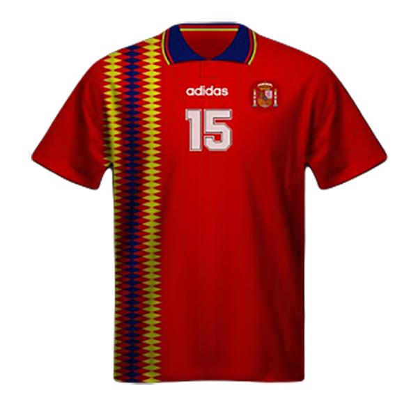 Camiseta España Mundial Estados Unidos 1994