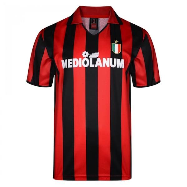 Camiseta vintage AC Milan 1988/89 Mediolanum