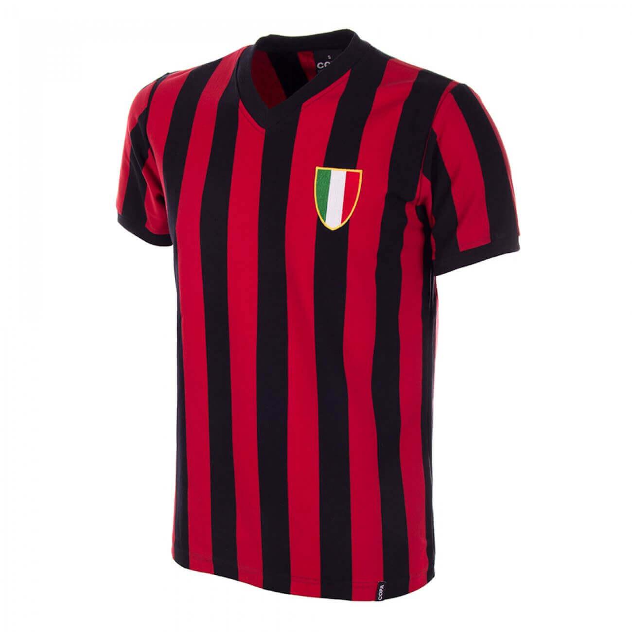 Camiseta AC Milan años 60