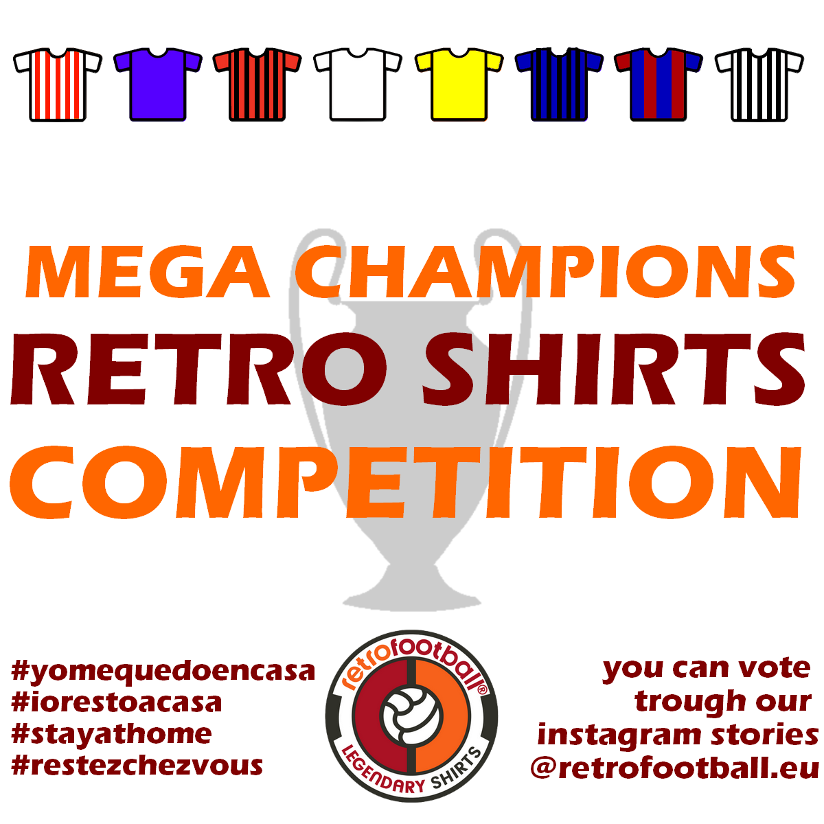 Mega Champions Retro Shirts Competition